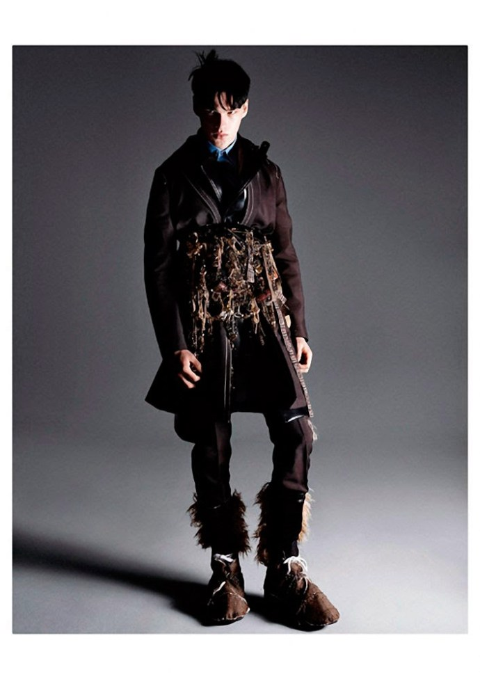 FILIP HRIVNAK PARA  VOGUE HOMMES INTERNATIONAL POR DAVID SIMS 10