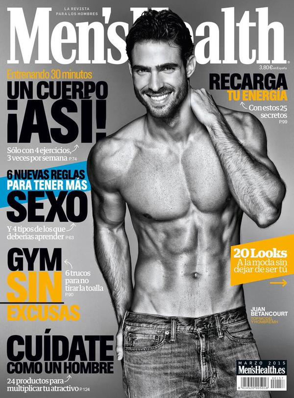 Juan-Betancourt-Mens-Health-Spain-March-2015-Cover