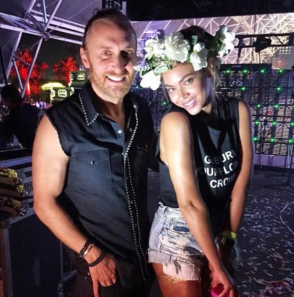 David Guetta Beyoncé Coachella 2015