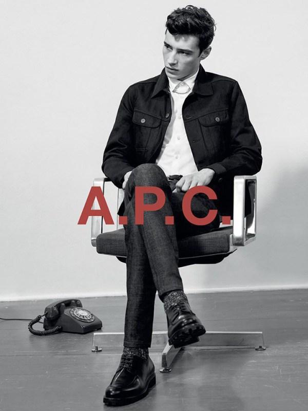 A.P.C. PRE FALL 2015 CAMPAÑA 1