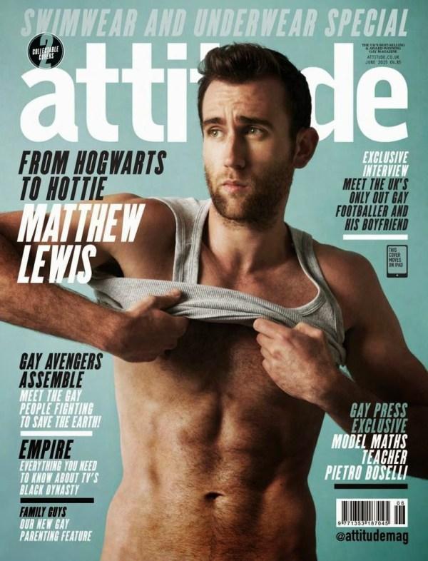 MATTHEW LEWIS PARA ATTITUDE MAGAZINE JUNIO 2015 1