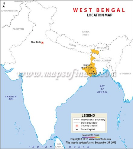 westbengal-location-map