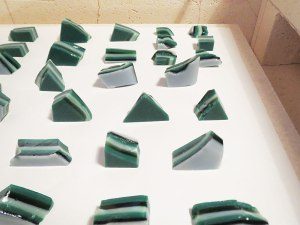 Broken Fused Glass Puddle