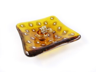 Yellow Trinket Dish