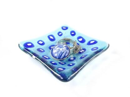 Blue Ring Dish