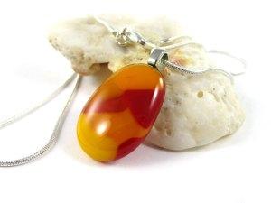 Orange Red Pendant