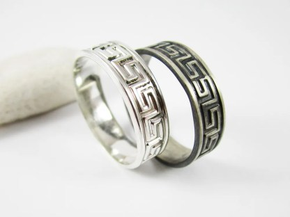 Greek Key Ring