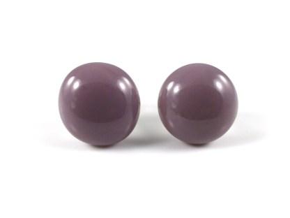 Lilac Stud Earrings