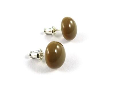 Caramel Stud Earrings