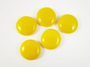 Yellow Cabochons