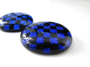 Round Dichroic Cabochons