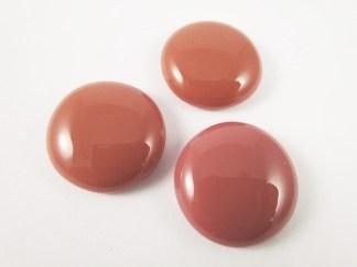 Salmon Pink Cabochons