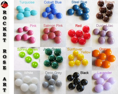 Small Earring Cabochons