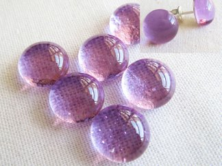 Lavender Cabochons