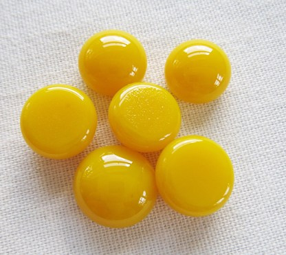 Yellow Cabochons