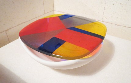 Fused Glass Bowl on Mold