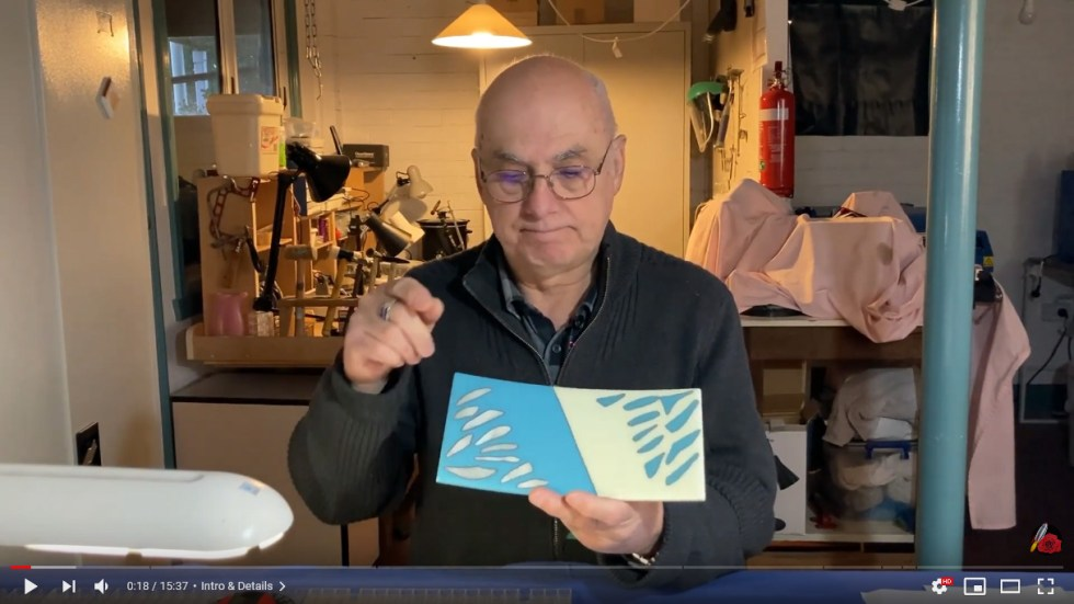 Fused Glass Reaction Project