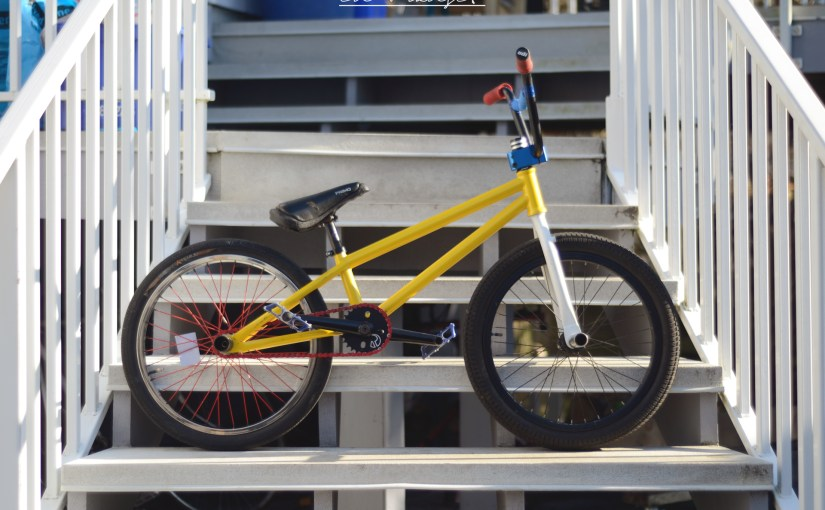 How to build a flatland BMX bike