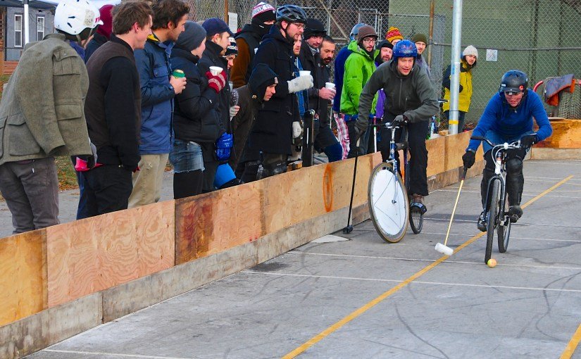 Recursing For Bike Polo