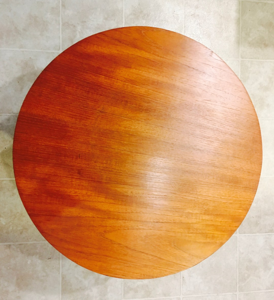 top of refinished rs associates table