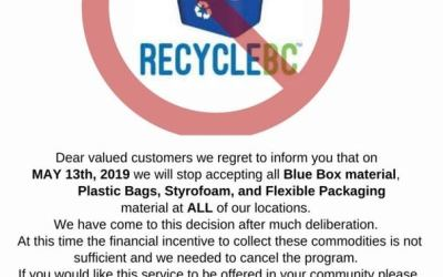 Bottle Depot vs Recycle BC