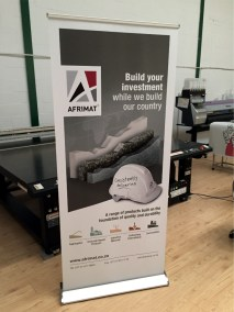 Afrimat Pull Up Banner