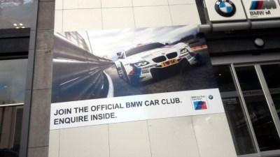 Promotional print - Auto Atlantic BMW