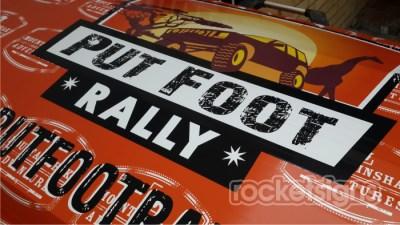 putfoot rally trailer wrap