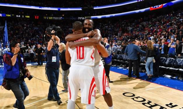 Les Rockets au finish : victoire au buzzer à Philadelphie