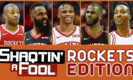 Shaqtin' A Fool spécial 'Rockets' : une décennie pleine de grosses boulettes, de défenses proche du néant, mais surtout de bonne barre !