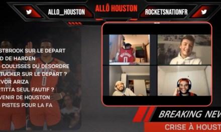 Allô Houston / Ep1 : Une première réussie, 500 fans à être passés et replay disponible pour les retardataires !