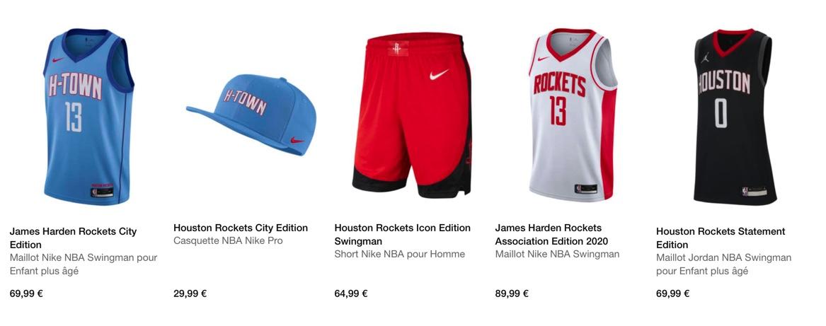 Bon plan Rockets Nation France : Le nouveau maillot des Rockets, ça vous tente ?
