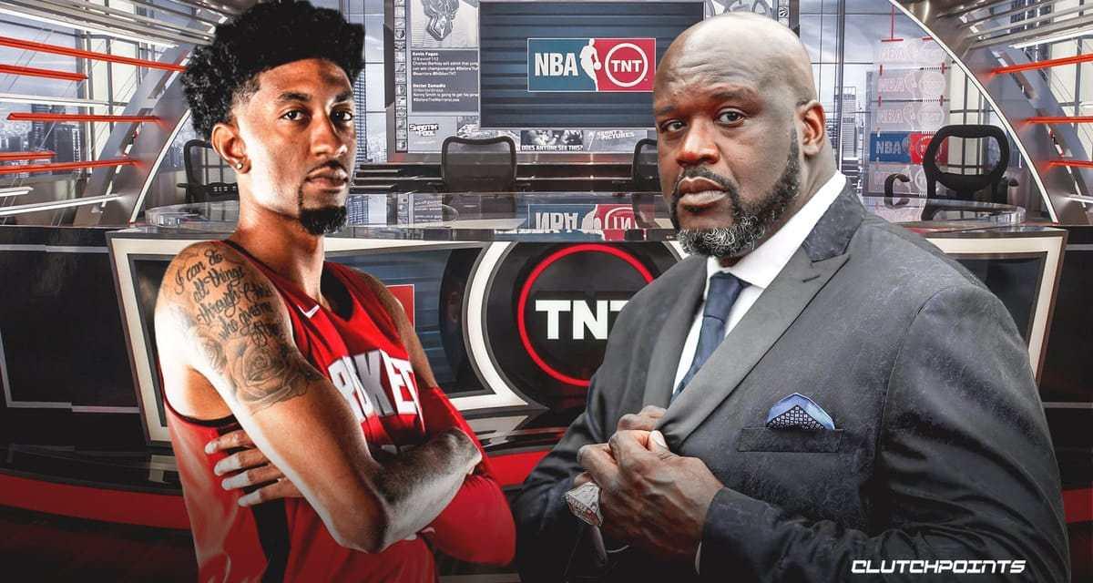Shaq déclare à Wood qu'il ne le connaissait pas très bien, le nouveau pivot des Rockets lui répond : «en fait, tu es un fan de passage»