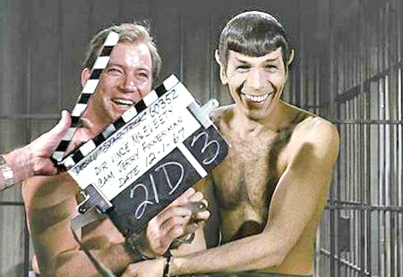 spock and kirk nude