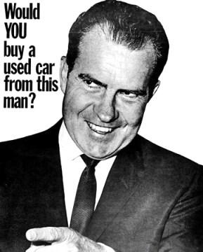 Anti-Nixon Poster, 1960