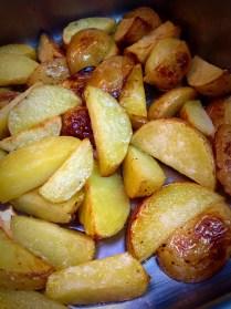 Roasted Salt & Vinegar Potatoes