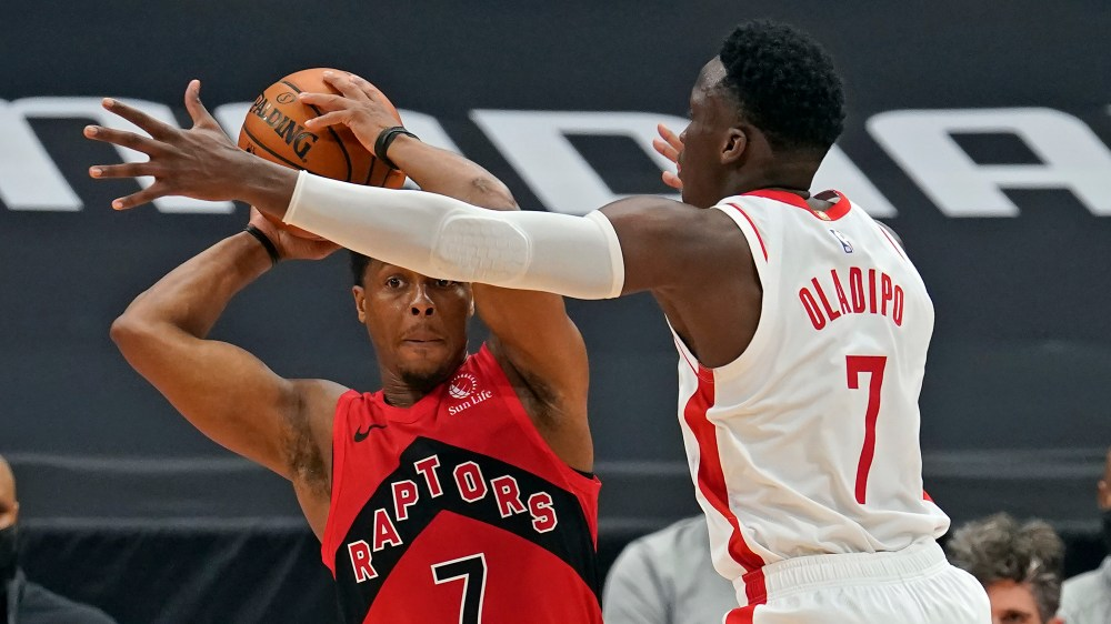 Victor Oladipo snaps slump, but Toronto extends Rockets' skid to 10