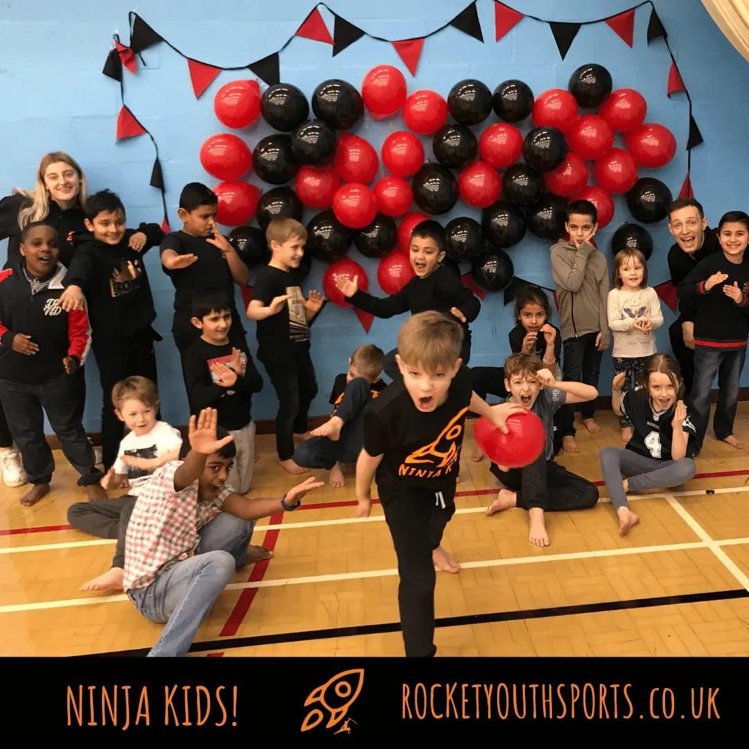 Ninja Kids Birthday Party Leicester