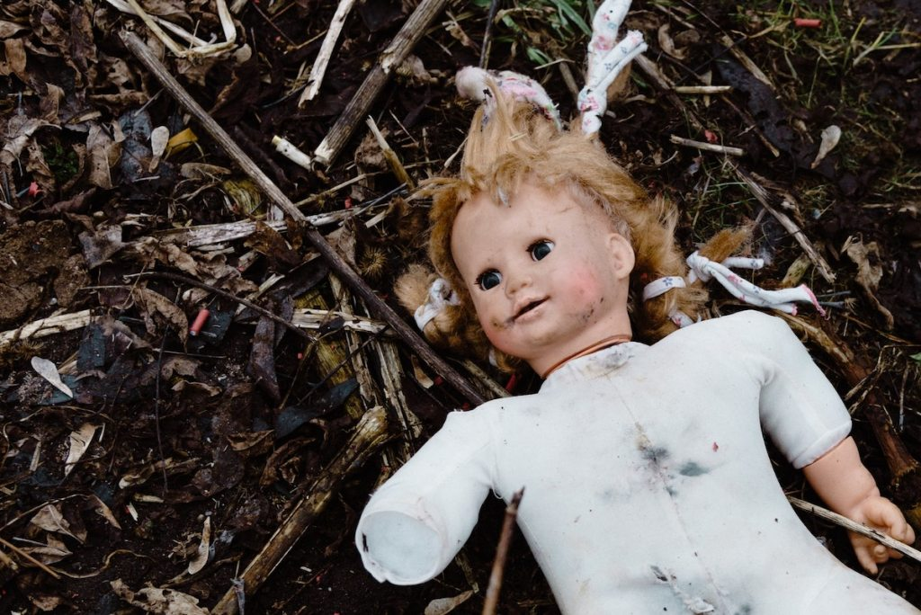 picture of a damaged doll