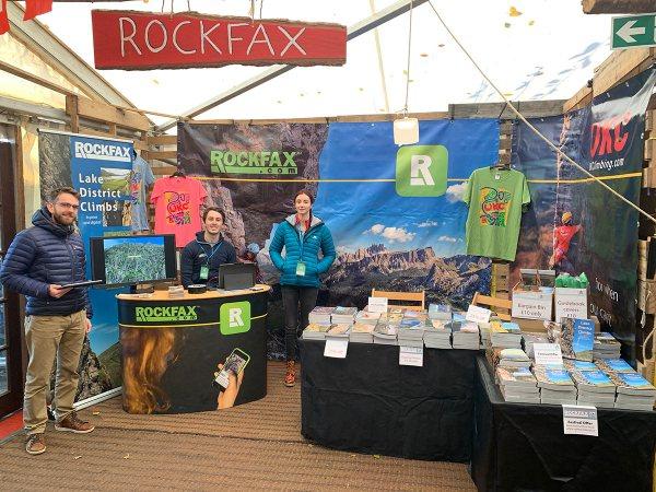 Rockfax-stand