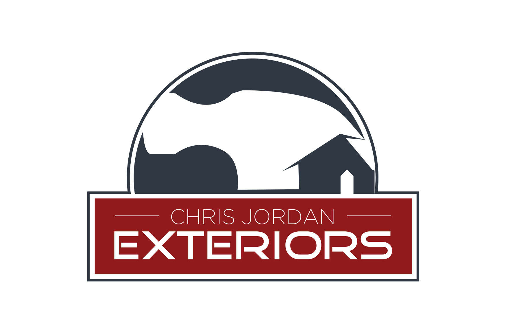 Logo Design | Branding | Chris Jordan Exteriors by Rockfish Media