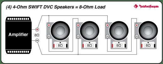 """Power 15"""" T1 4-Ohm DVC Subwoofer"""