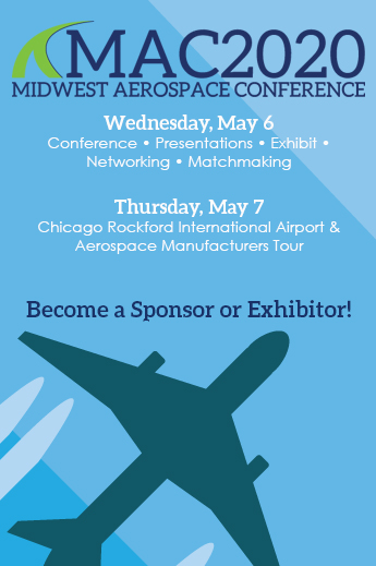 Midwest Aerospace Conference - MCA2020 - May 6-7 - Sponsor Exhibit Attend