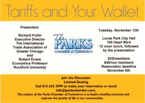 Tariffs and Your Wallet - The Parks Chamber of Commerce