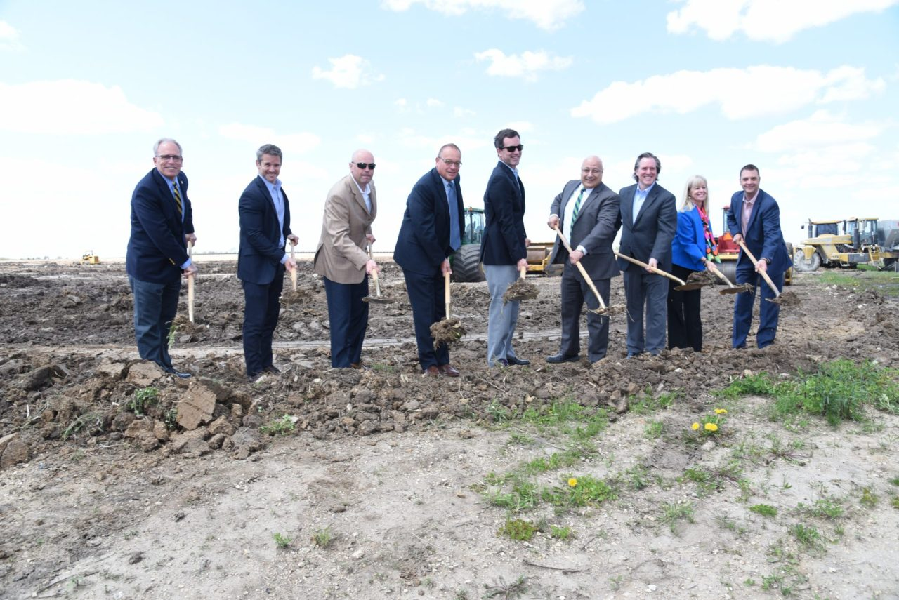 Ground Breaking at Siffron in Loves Park IL