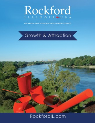 Rockford Area Economic Development's Growth and Attraction Brochure