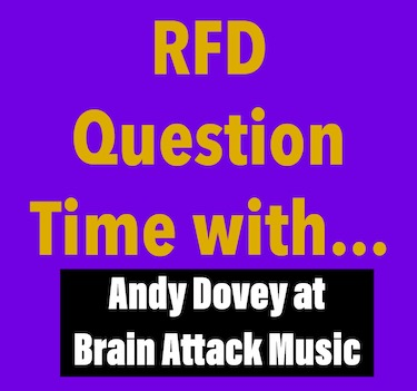 RFD Question Time with Andy Dovey at Brain Attack Music
