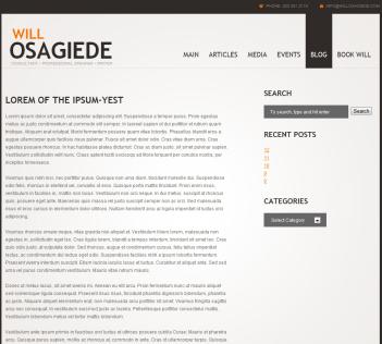 Will Osagiede dot com
