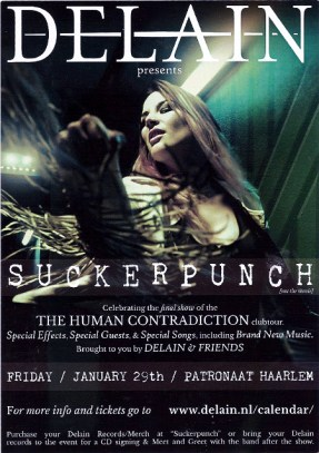 The poster art for the Suckerpunch show
