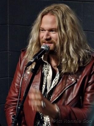Inglorious singer Nathan James